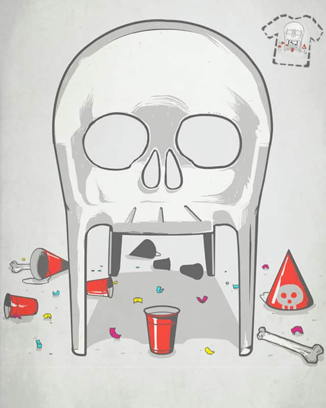 Mr. Skeleton got a great party yesterday by mecha-chiken on Threadless