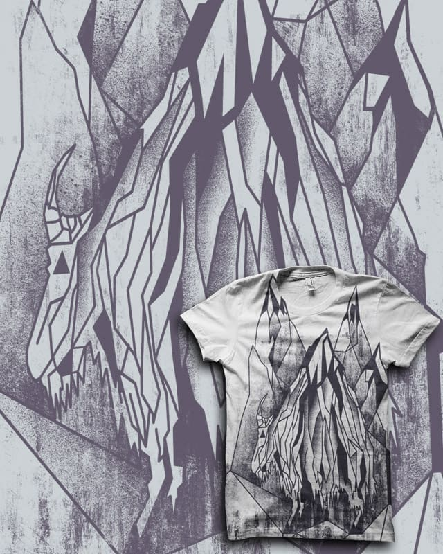 valley of the Mountain Goat (qetza remix) by biotwist on Threadless