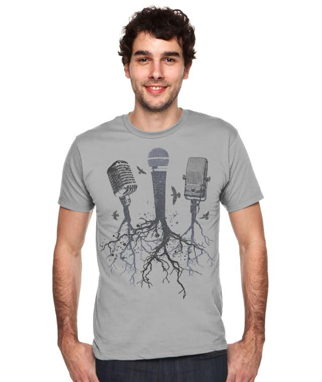 Roots Music by vivawolf on Threadless