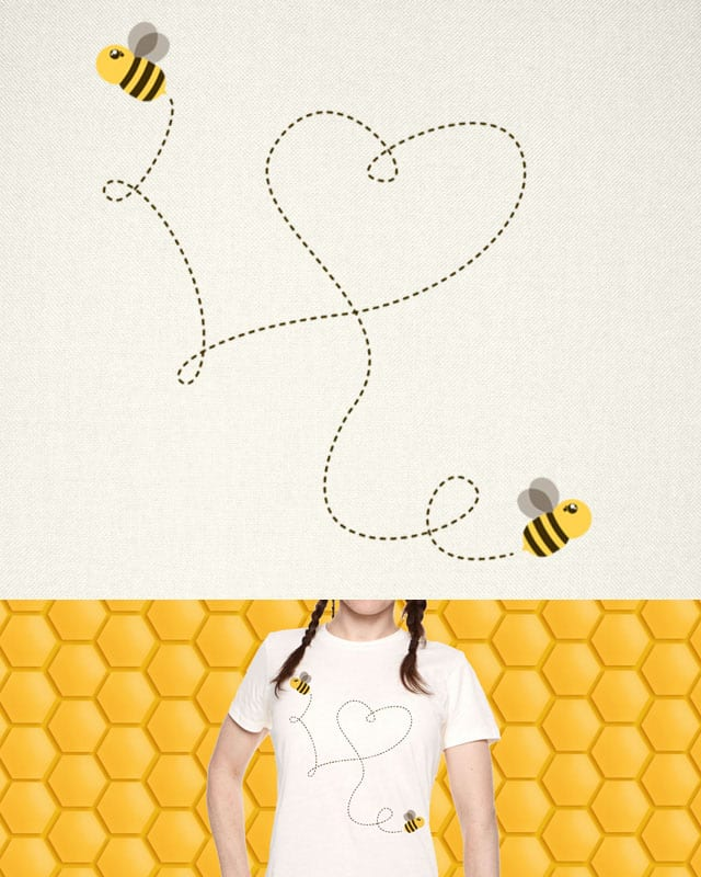 Bee United by LOVE by Arekushia on Threadless