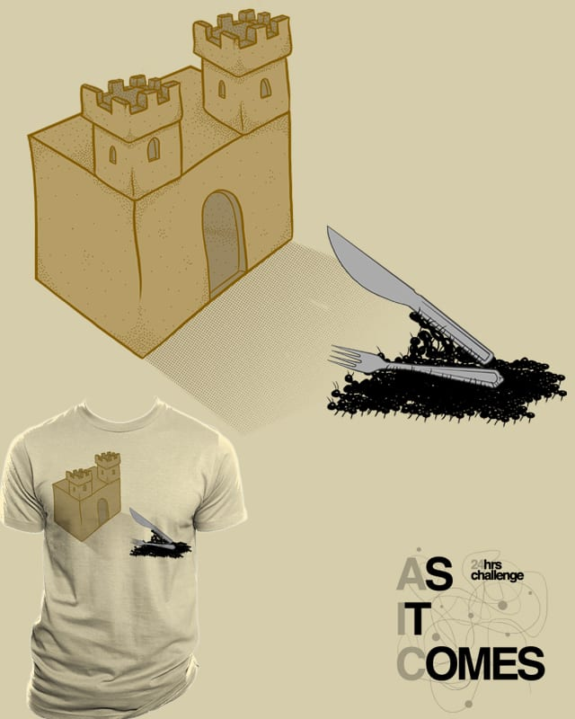 Sand Castle Invasion by Resistance on Threadless