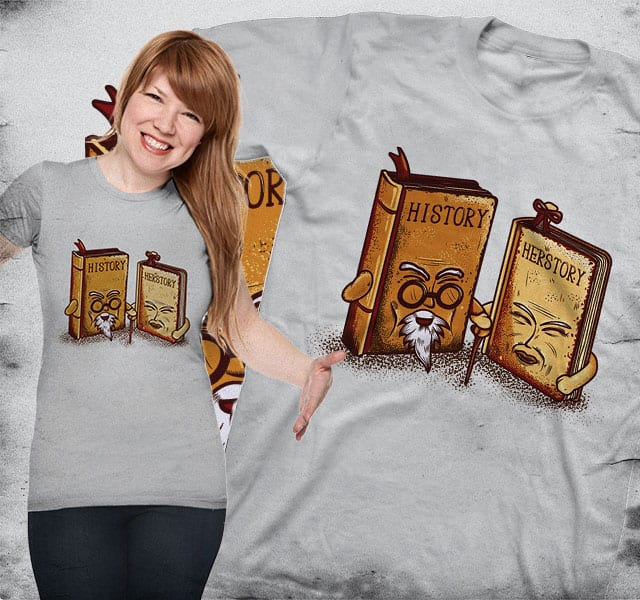 HIStory & HERstory by Wilfur on Threadless