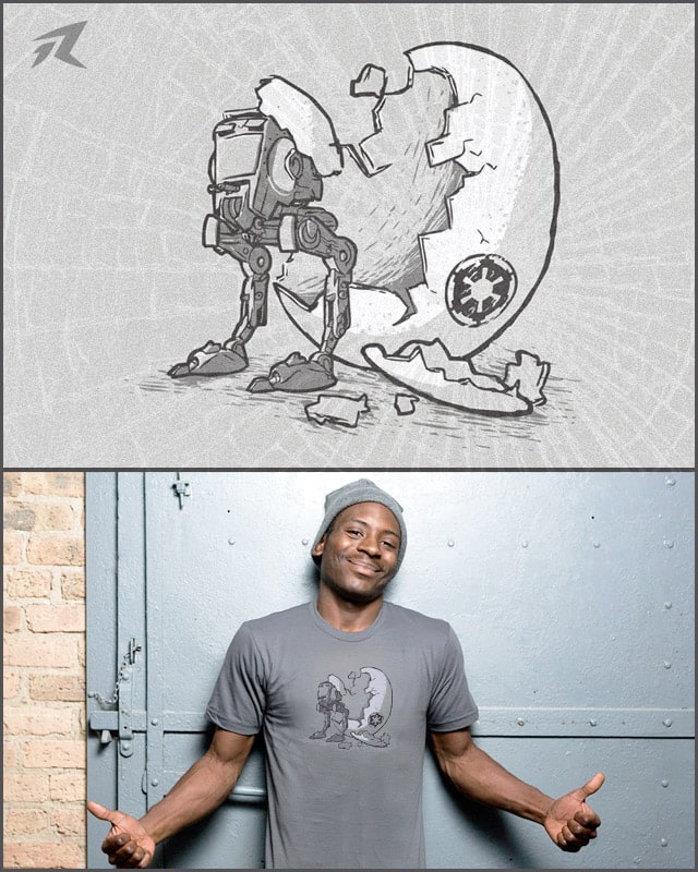 AT-ST by Rax Arts on Threadless