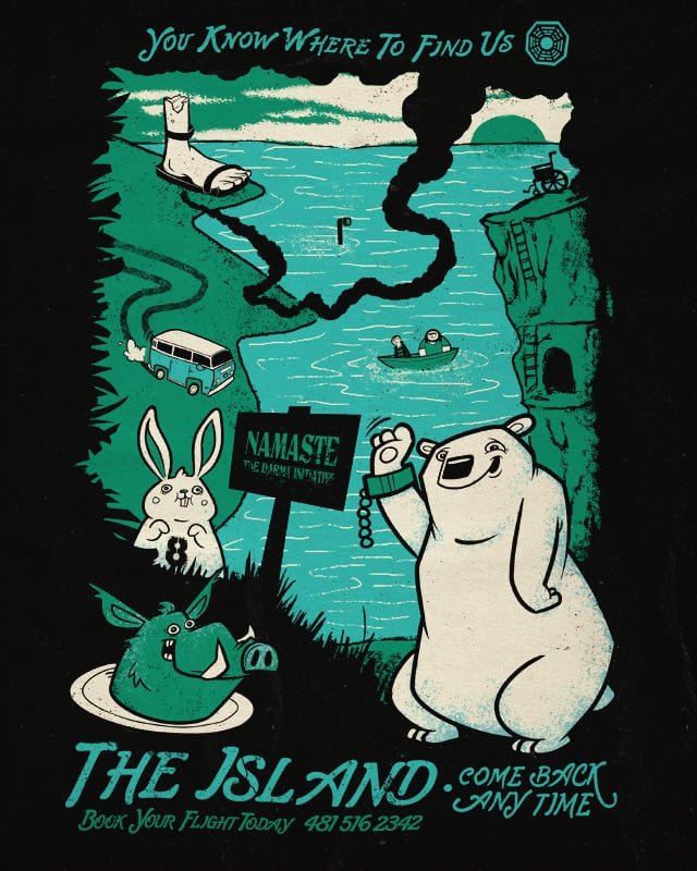 island vacation by jublin on Threadless