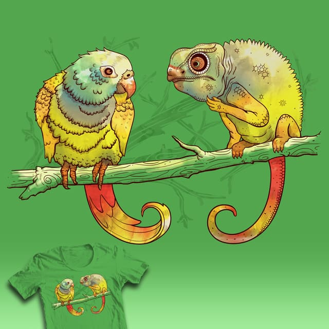 Parrot by Ste7en on Threadless