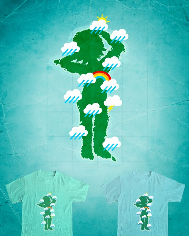 Chance of showers by Montro on Threadless