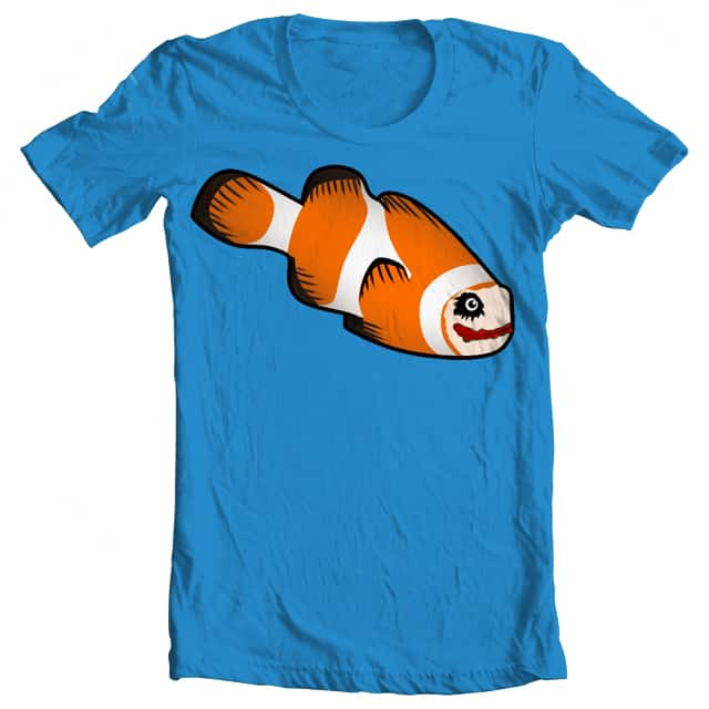 Why are you such a serious fish? by BavoMaes on Threadless