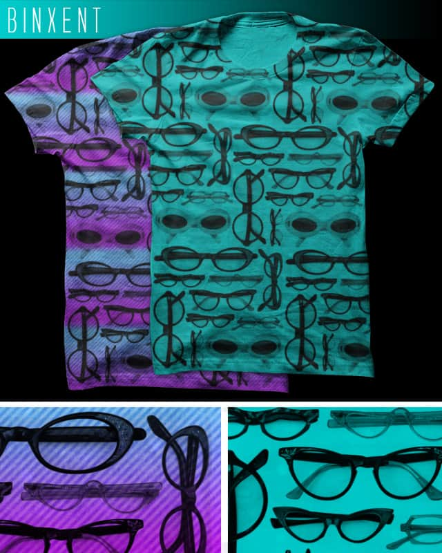 vintage glasses by Binxent on Threadless
