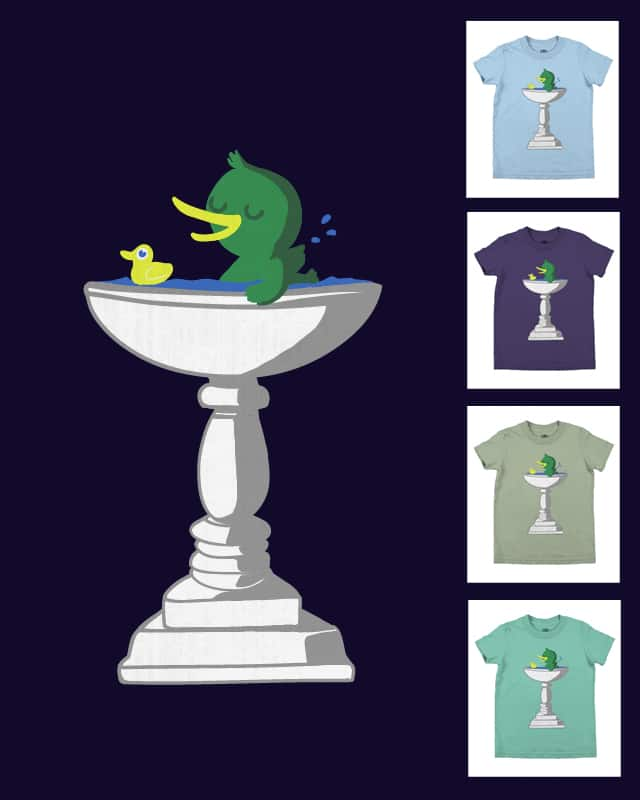 Bird Bath by Boycey on Threadless