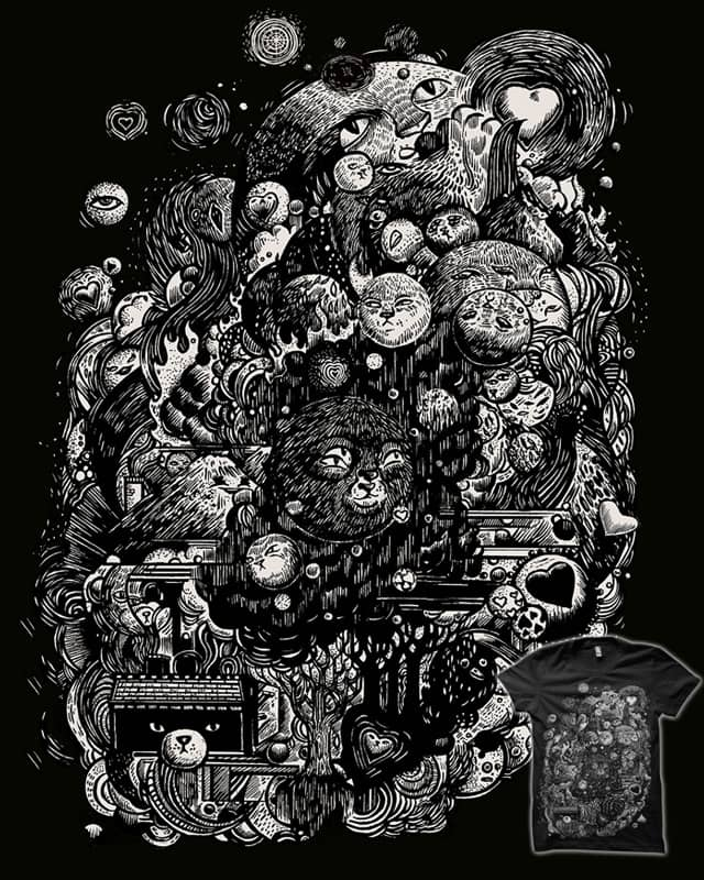 Spark-Eyed Oblivion Cascade Blues by B 7 on Threadless