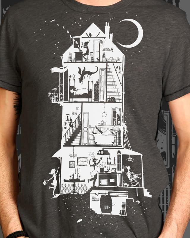 This is The Happy House by Anything Goes on Threadless