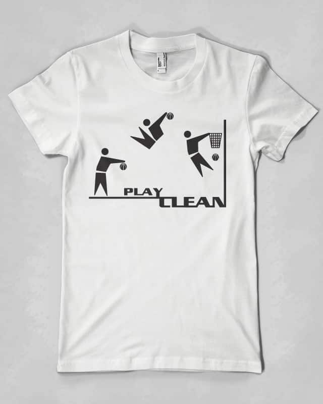Play Clean by hodo on Threadless