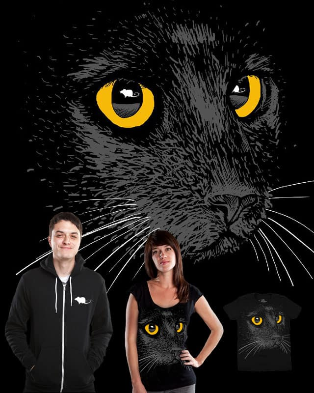 Chat Noir Et Rat Blanc by YaaH on Threadless