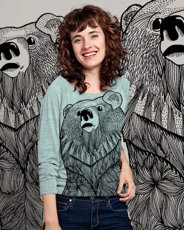 Beary Hairy by pindian on Threadless