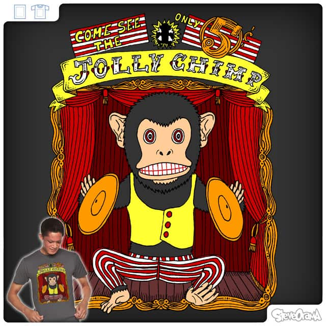Come See The Jolly Chimp by SteveOramA on Threadless