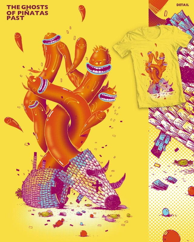The Ghosts of Pinatas Past by PBOt on Threadless