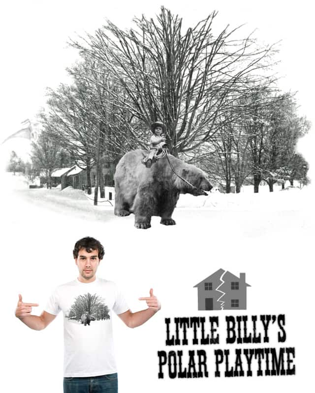 Little Billy's Polar Playtime by craquehaus on Threadless