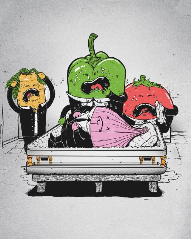 Onion's Funeral by MadKobra on Threadless