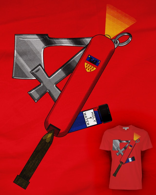 Transylvanian Army Knife by LittleSaturn on Threadless