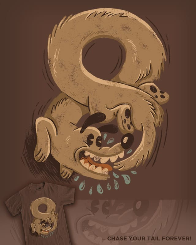 Chase Your Tail Forever! by WanderingBert on Threadless