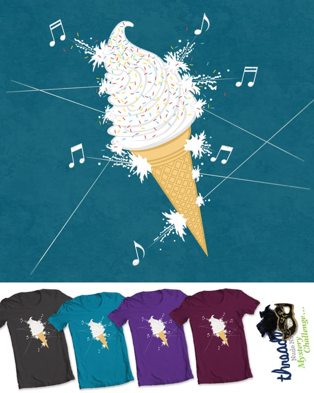Killing Me Soft Cream by Threadless Mystery Challenge on Threadless