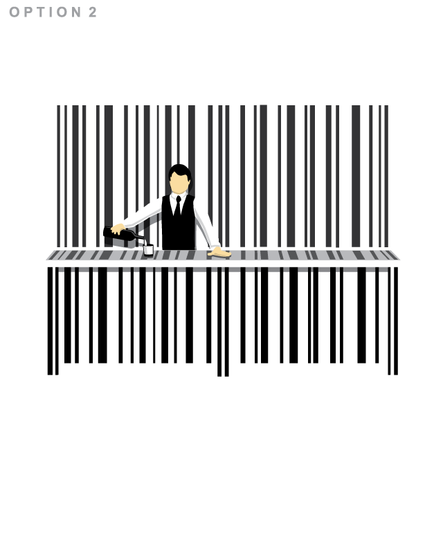 Bar Code by nathanwpyle1982 on Threadless