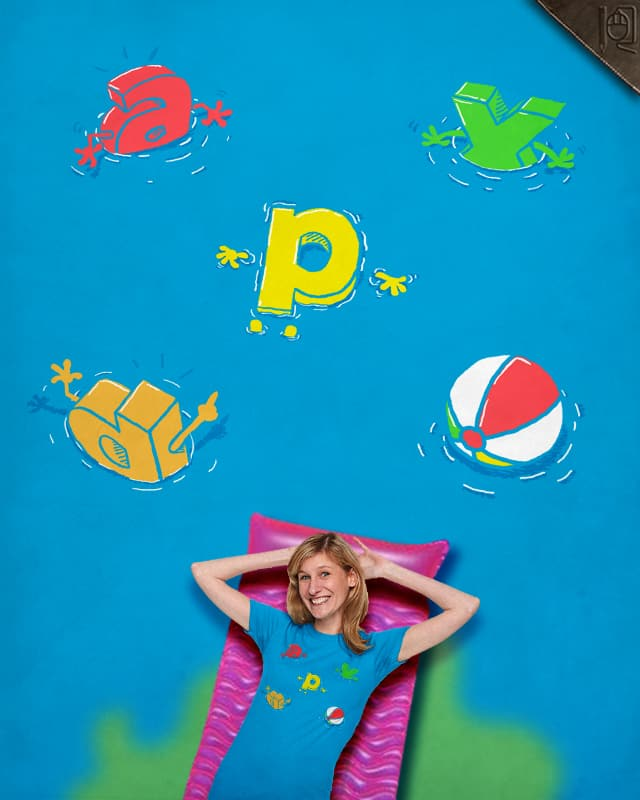 P in the pool by rodrigobhz on Threadless