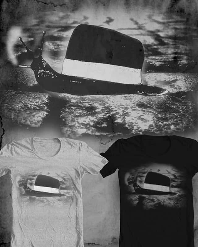 Noir Chapeau de l'Escargot by ArTrOcItY on Threadless