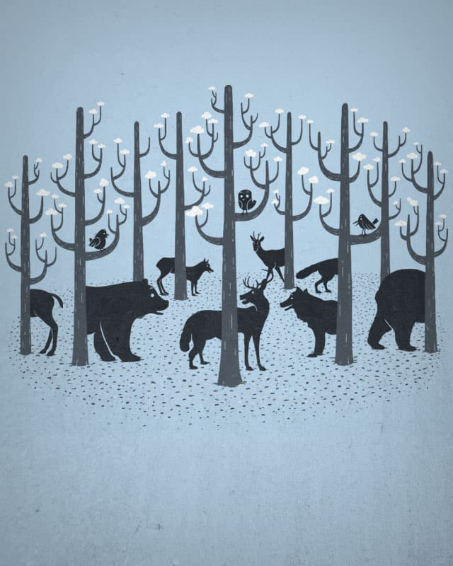 enchanted forest by boostr29 on Threadless