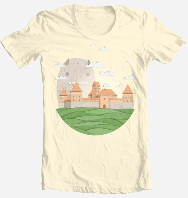 Paper Castle by stolen-pencil on Threadless