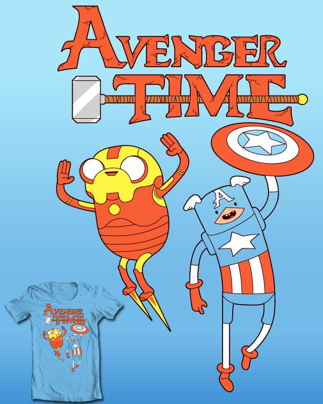 Avenger Time! by Ste7en on Threadless