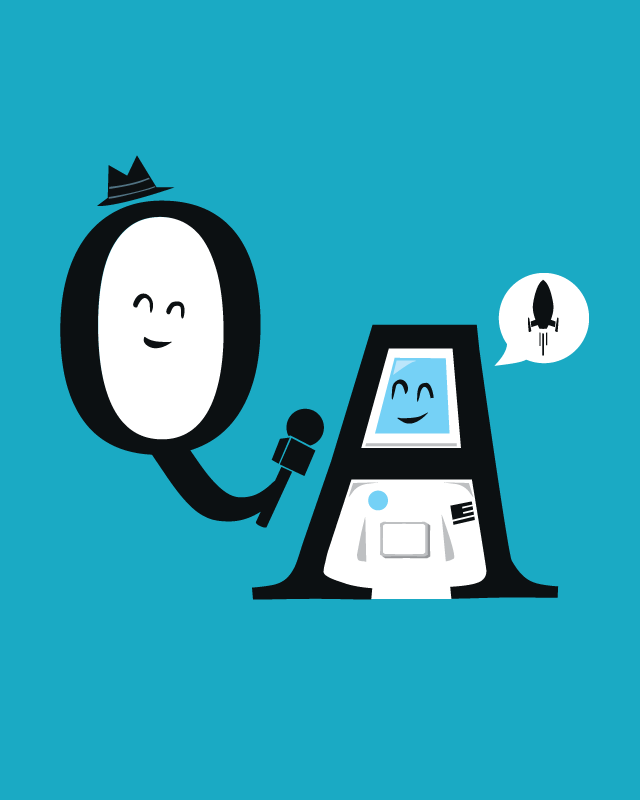 Q and A by nathanwpyle at gmail.com on Threadless