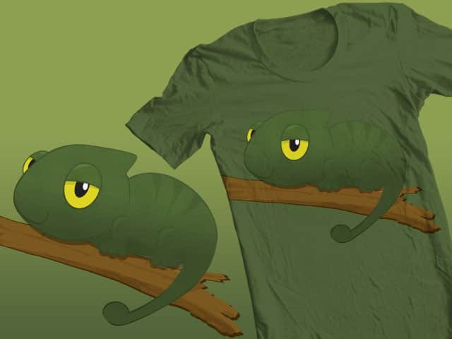 Chameleon Inside Shirt!! by yorkjing on Threadless