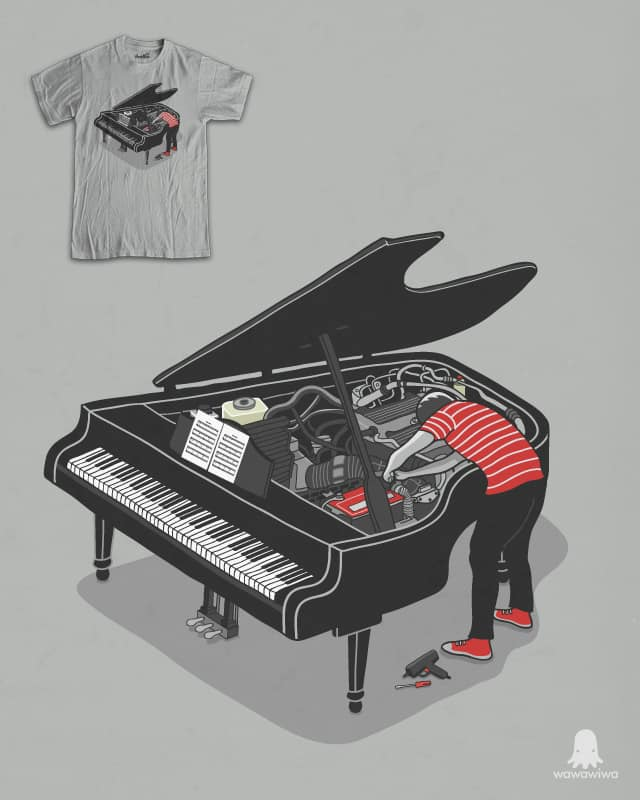 Pre-concert Tune-Up by wawawiwa on Threadless