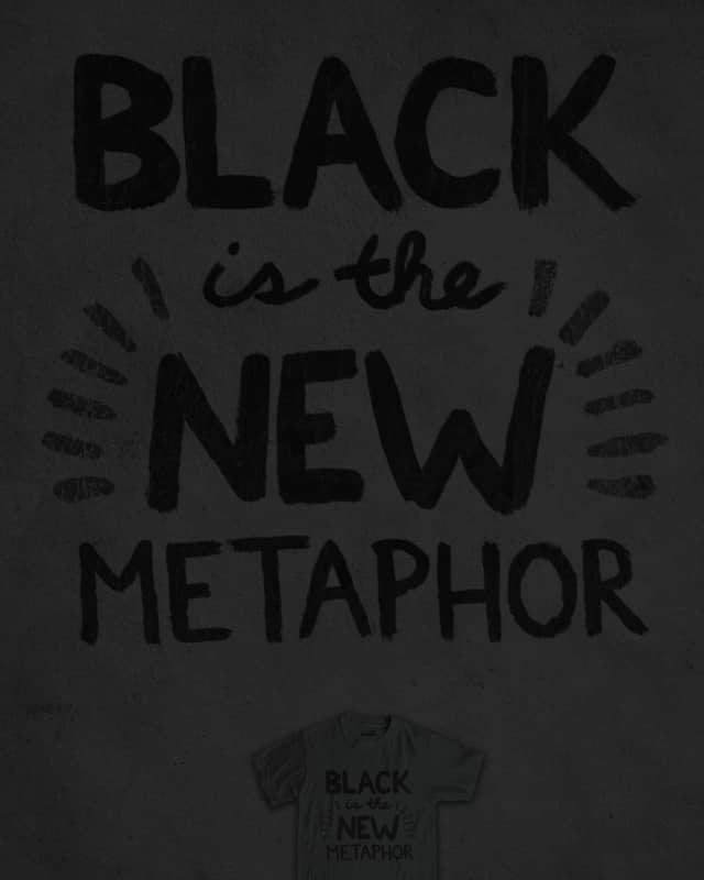Black is Back by murraymullet on Threadless