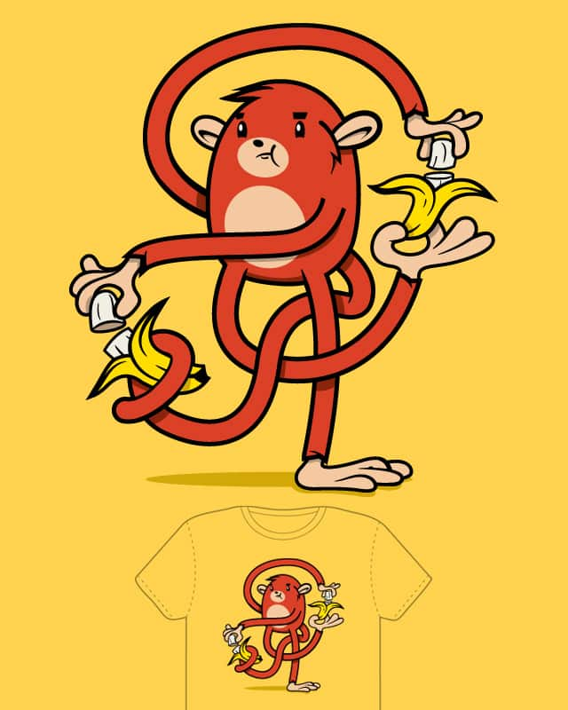 One Banana, Two Banana by DPF on Threadless
