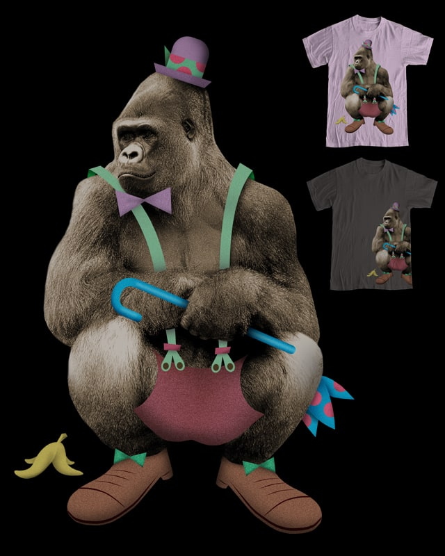 Gorilla For Sale by pjbrick7 on Threadless