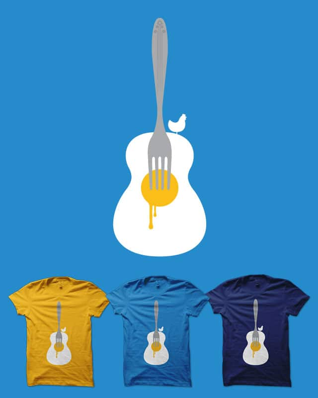 Yolkulele by quick-brown-fox on Threadless