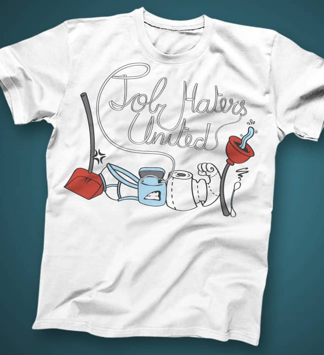 Job Haters United by italiux on Threadless
