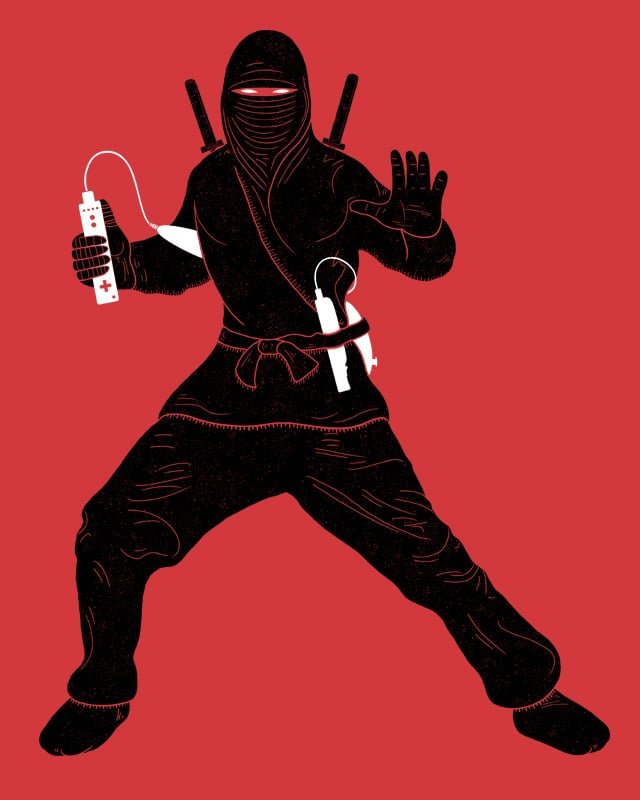 wiinja by Andreas Mohacsy on Threadless