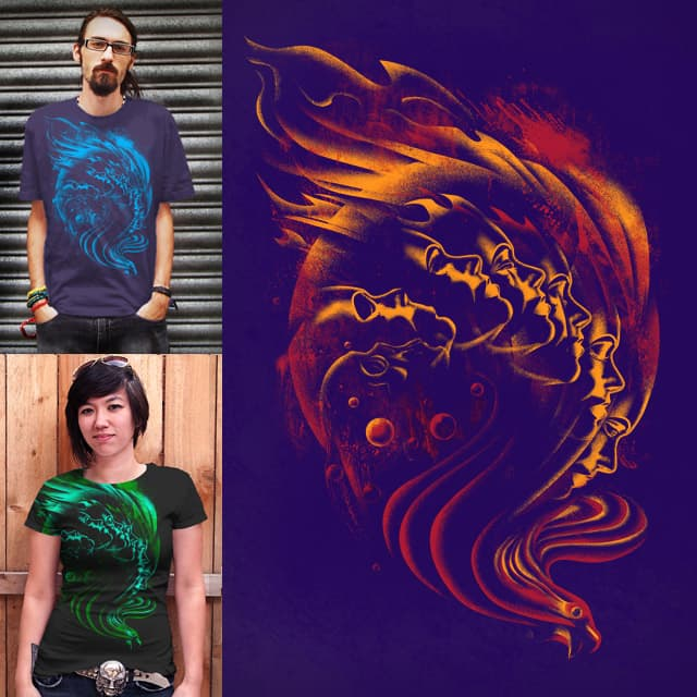 Firebird Resurrection by qetza on Threadless