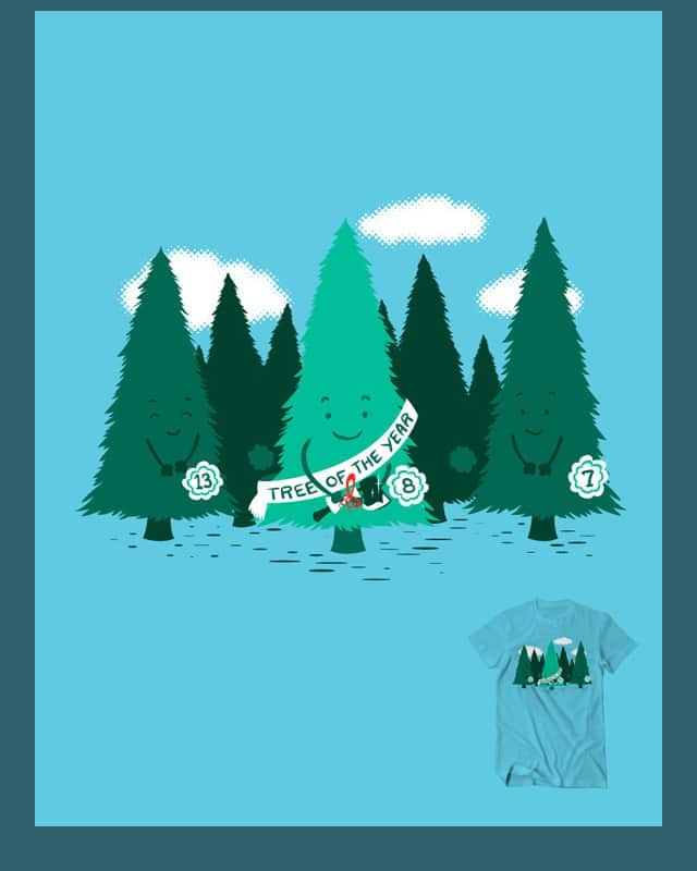 Tree Of The Year by Flying_Mouse on Threadless