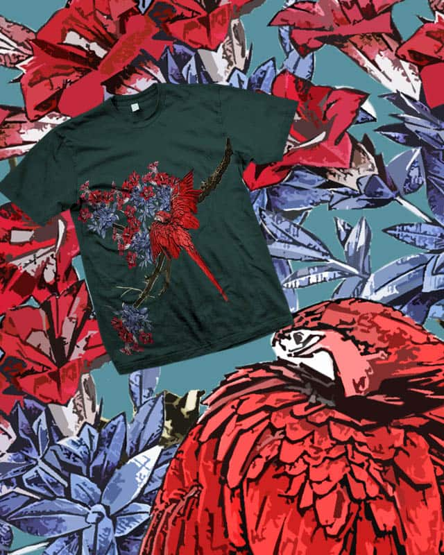 Redbird by LopaMohapatra on Threadless