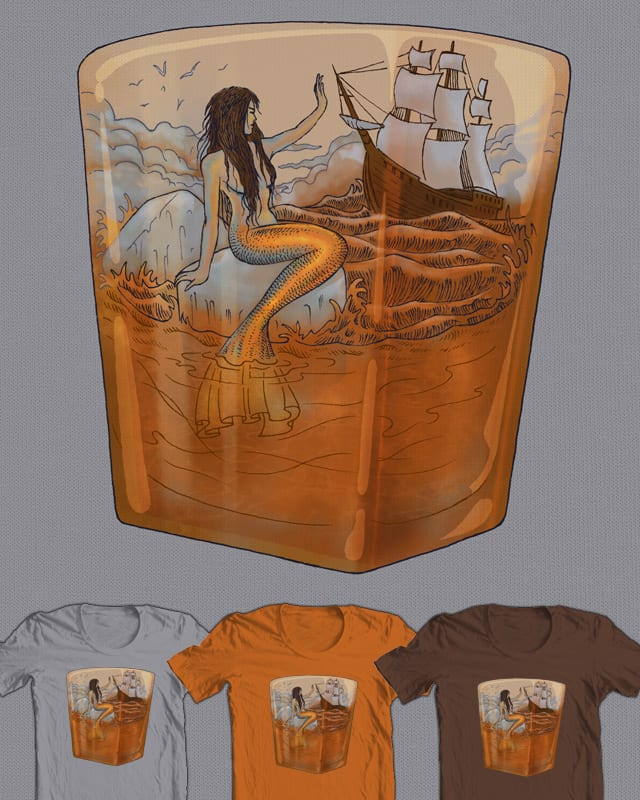 On the Rocks by RicoMambo on Threadless