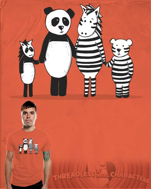 Happy Family by CazKing on Threadless