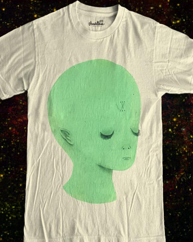 Alien Beauty by ginetteginette on Threadless