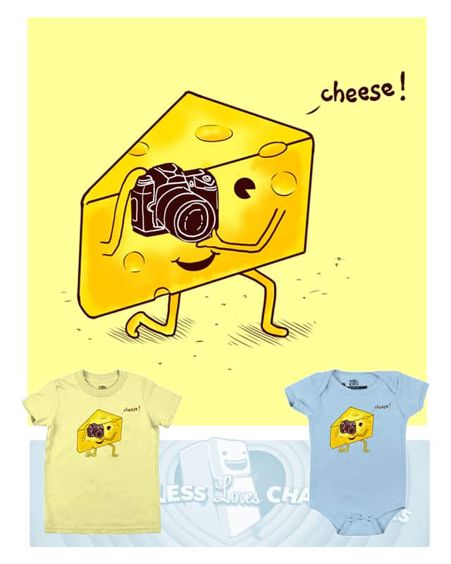 Cheese ! by kooky love on Threadless