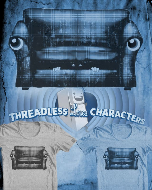Hungry Couch by ArTrOcItY on Threadless