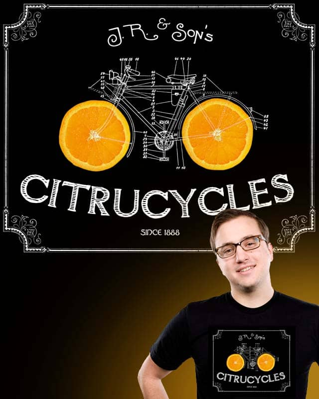 Citrucycles by nicchev on Threadless