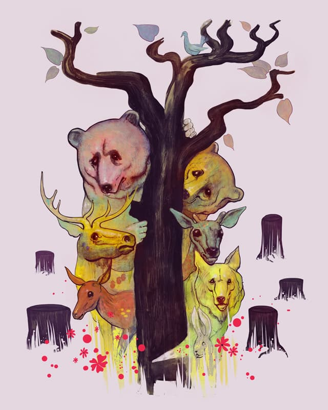 the last tree by bogdant on Threadless